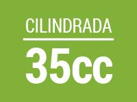 Cilindrada 35cc