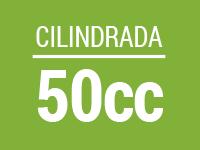 Cilindrada 50cc